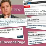 Page infló 11 millones el contrato d #basuras q echa en cara al gerente d Cospedal #QueEscondePage? #LaHoraAzulPP179 http://t.co/Ko1KJAgYzd