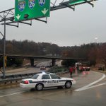 #avl #asheville #traffic #Route26 onramp is blocked until they clean up the #christmastree spill. http://t.co/lraA1VPN7H