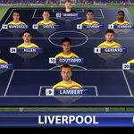 Liverpools line-up at Selhurst Park for #SuperSunday: http://t.co/n3dvRJfkWB http://t.co/5hieHhmwaa