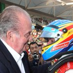 """El rey Juan Carlos: """"Alonso me ha dicho que va a McLaren"""" http://t.co/YBdefP8r25 http://t.co/sNVBkemvSs"""
