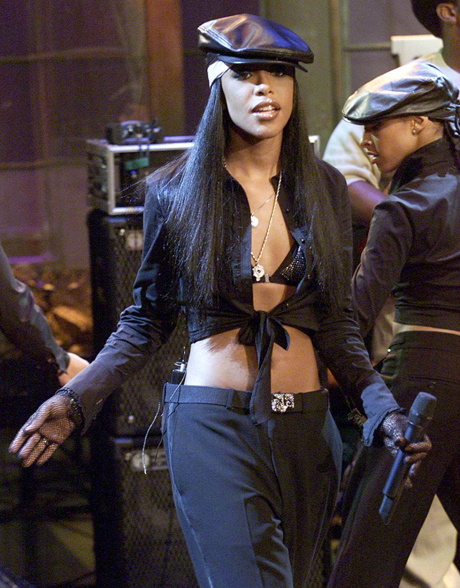 Did the Aaliyah Lifetime biopic at least get the style right?
