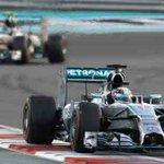 RT @Sports_NDTV: #AbuDhabiGP: At half way, Hamilton leads, Rosberg 2nd. MAS, RIC, BOT follow. Race updates: http://t.co/S0lJaxs5wA