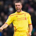 PHOTO Rickie Lambert celebrates his first @LFC goal after 89 seconds. Its Crystal Palace 0-1 Liverpool #CRYLIV http://t.co/EzKYSRnqLS