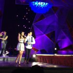 James Reid and Nadine Lustre at the 28th PMPC Star Awards for TV. http://t.co/0dMXKmMDez
