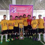 Orait. Theyre the champion of Elektro Cup 2014. Congratulation for LIGHTNING FC *\^^/* http://t.co/UNegFAafPP