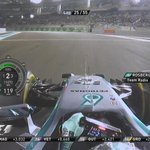 Nico Rosberg locks up and runs deep at T20, and then reports he is losing engine power #AbuDhabiGP #F1 http://t.co/LQCIs1Rzx8