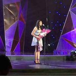 RT if youre proud of this Lady for winning Star of the Night in PMPC ???? ctto ~Np JaDine At PMPC Star Awards ???? http://t.co/E0AFYRpwKE