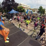 Un gran domingo de recreación familiar en Cicletada @entel en Plaza de Los Héroes #Rancagua http://t.co/TjCnz31YVZ
