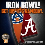 #Breaking: GameDay is heading to Tuscaloosa for the #IronBowl! #GetUp4GameDay http://t.co/4LjExavJoH