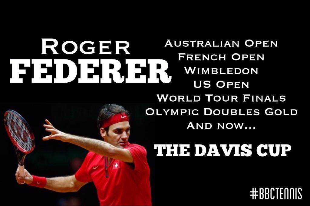 Roger Federer. Career Complete? http://t.co/w8qdRN1v3P