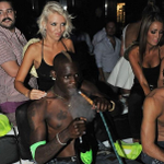 Meanwhile in Liverpool, Mario watches the game on TV... http://t.co/COOG41cYps