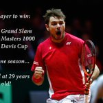Switzerland has made history, but on the individual level, so has @stanwawrinka! http://t.co/mIyfz33VFO