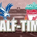 Its all square at Selhurst Park at the break - but Rickie Lambert has his first #LFC goal http://t.co/s2vnie4o7i http://t.co/ElhZyngvGe