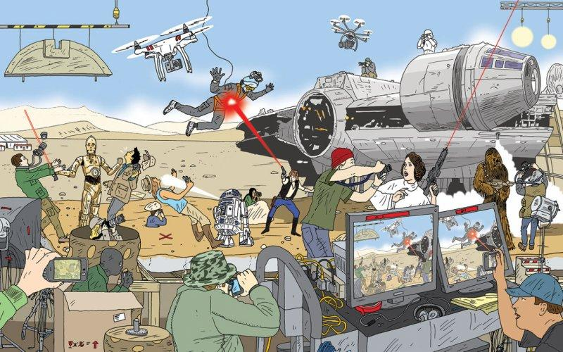 How StarWars: Episode VII Lost Control of Its Secrets
