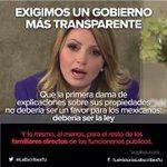 Exigimos un gobierno transparente #YaMeCanse http://t.co/HnayVRLJ52