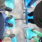 Auf die Stühle ist das Motto bei den #Rabauken!!! Solidarisch mit den #Rasenballisten und #RedAces http://t.co/6Rx1mWgjUa