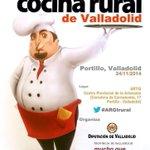 Mañana podéis seguir en directo el I Foro de la Cocina Rural de #Valladolid #ARGIrural en http://t.co/U4YDLGYGOA http://t.co/lw3P7lD0aQ