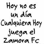 Hoy Juega Mi #ZamoraFc Vamos todos al estadio apoyar para seguir con la senda ganadora! @RincnBlanquineg @Saenz_EU http://t.co/J15FuEanzg