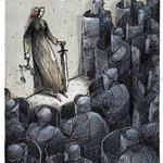 """Comparto gran cartón de Boligan llamado """"La encapsulada"""" sobre lo que está ocurriendo con la justicia en México. http://t.co/t7TAI6EvqE"""