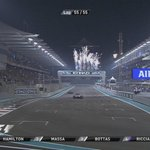 Lewis Hamilton of @MercedesAMGF1 wins the #AbuDhabiGP and seals the 2014 Formula One World Championship #F1 http://t.co/Ukg7rfwFYV