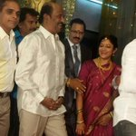 #Superstar #Rajinikanth in Bangalore for a relative marriage today. http://t.co/kMarVzb3MN