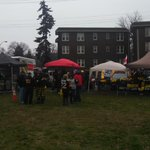 We are all set up and ready to party. Get your ass down here already #Ticats fans. Oskee Wee Wee #CFL. #AlsSuck http://t.co/Km47OMCPmz