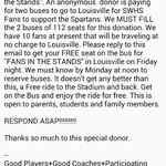 Dont miss out on the great opportunity to support us in Louisville @SWHSsports @SouthWarrenNews @SWHS_Sports http://t.co/3qu9Yrcq9o