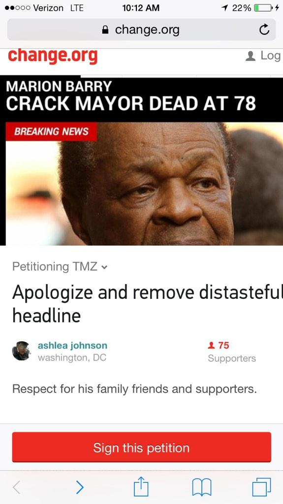To sign the petition to have TMZ remove and apologize Click the link --> https://t.co/5LGZ4EJQ1E http://t.co/pISdWGtJk3