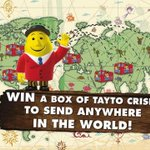 Want to WIN a BOX of #Tayto!?! RT & Follow to be in with a chance!!#CrispyChristmas http://t.co/hSghfkxnrj