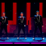 Take this, its only @takethat live on #XFactor with their new single! http://t.co/uZtCsXuzEA