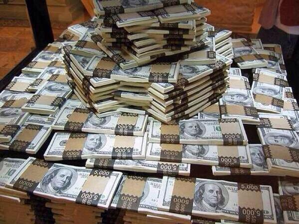 Retweet and you'll find money tomorrow