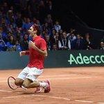 Mito! RT @JornalOGlobo: Federer volta a fazer história e Suíça conquista inédita Copa Davis. http://t.co/rcxmHkqlEM http://t.co/aa3vN8ZjxX