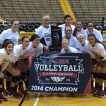 Your 2014 #CUSAChamp LADY TOPPERS OF @WKUVolleyball !! http://t.co/ayqGMguFSX