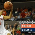 Final. #UVaWBB improves to 4-0 with a 66-51 victory over Auburn. Sarah Imovbioh with 21 points and 13 rebounds. http://t.co/zkFqAOKt6i