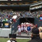 The #Cardinals getting a nice welcome to Seattle. @KOMO4Sports #12thMan #AZvsSEA @komonews http://t.co/p7KcuoGjE2