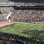 National Anthem at CenturyLink Field just before #Seahawks face Arizona. @thenewstribune http://t.co/HzZV46fG9O