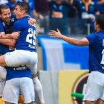 O melhor time do Brasil comemora de novo! Parabéns ao @Cruzeiro, tetracampeão nacional! http://t.co/ScdVeugpWy http://t.co/RwOhjMfaNY