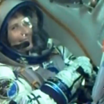 .@AstroSamantha smiles at the camera moments before liftoff. #Futura42 http://t.co/2s9WOvPCoH