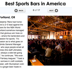 One of the best sports bars in America, according to @TravlandLeisure, resides in Portland: http://t.co/OlHqNvOmkN http://t.co/L39CiGLeQU