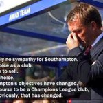 QUOTE: Brendan Rodgers on Southampton in August 2014.  ...Liverpool now lie 12th in the league & Southampton are 2nd. http://t.co/QTYRCxUGTg