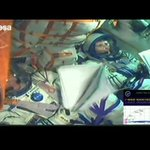 Il decollo di @AstroSamantha ! http://t.co/e8uhJ8Ea34