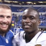 Bjoern Werner and Telvin Smith in Indianapolis.  #FSU http://t.co/9hHjvzTaI6