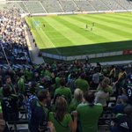 #Sounders traveling support looking fabulous as always. #LAvSEA http://t.co/nRixTAEq4e