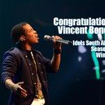 """@IdolsSA: The winner of #IdolsSA season 10 is: #IdolsSAVincentB. Congratulations! http://t.co/pKaydvDGWY http://t.co/mYWD83Yfkz"""