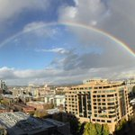 Dang! #Portland you are so good at so many things but making (double!) rainbows might be your best work. cc @k9pdx http://t.co/ZA20SUbGTh