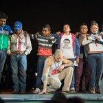 VIDEO: Normalistas de #Ayotzinapa alzan la voz en el concierto de @Calle13Oficial #YaMeCanse http://t.co/0Kniggjnkw http://t.co/7TibaqVadd