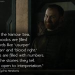 """Across the Narrow Sea, your books are..."" - #TychoNestoris #GameofThrones #GoTQuotes #GoT http://t.co/gOvR04qgz6 http://t.co/3VPKEiPEJK"