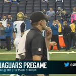 #Jaguars digital team showing they're the best in the league. Pregame warmups streamed live. http://t.co/15yuVrIdka http://t.co/4HvDc9bKgG