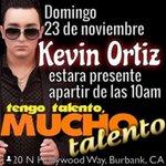 tengo talento con kevin ortiz 2820 hollywood way Burbank ca domingo 23 de noviembre 1130am que se corra la voz! http://t.co/vtHsUWWYNz