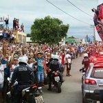 O que vimos aqui em Cuiabá é algo fora do comum. Que torcida é essa!!!! Vamos com tudo!!! #JuntosSomosMaisFortes 🔴⚪⚫ http://t.co/qzcJMZOxZ1